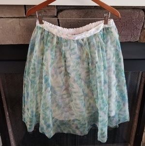 Disney Cinderella watercolor tulle skirt LC size L